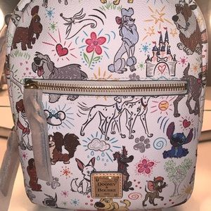Disney Dooney and Bourke dogs mini backpack NWT